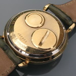 Accutron 214 14K Gold Tiffany Spaceview M3