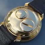 Bulova Accutron Astronaut 18K Gold 214HN M1 Case 2410 9-3 D75654