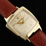 Accutron Model 521 TV 214 M0 14K Gold Case