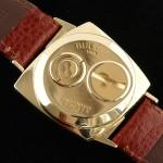 Accutron Model 521 TV 214 M0 14K Gold Case