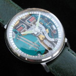 Accutron Spaceview Conversion 214H M9
