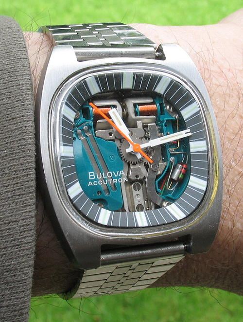 Image result for Bulova Accutron spaceview