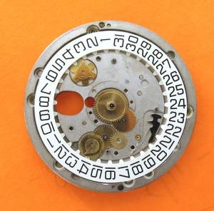 ESA 9210 Calendar Platform 2551 Dial Side Date Only Installed