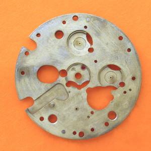 ESA 9210 Chronograph Mechanism Platform 8281 Dial Side