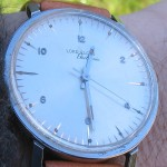 Elgin 910 Stainless Steel Case Style 2552 White Dial