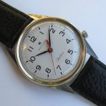 Hamilton Clearview, white dial from the front, Cal. 505, 1965