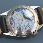 Hamilton Clearview, black dial; Cal. 505, 1965