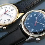 Hamilton Clearview, white and black dial varieties together; Cal. 505, 1965