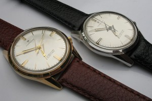 Gold and steel Hamilton Huguenin Electrics