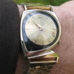 Hamilton Meteor on correct gold bracelet; Cal. 500A, 1960