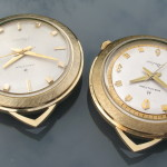 Hamilton Nautilus 403 Pair. Correct one on the left