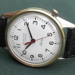 Hamilton RR Special 51; Calibre 505; Stainless steel case with 10K GF bezel; 1965ish