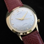 Hamilton Spectra 18K Solid Gold; Screw down back; 34mm diameter incl. crown; Cal. 500; 1960ish