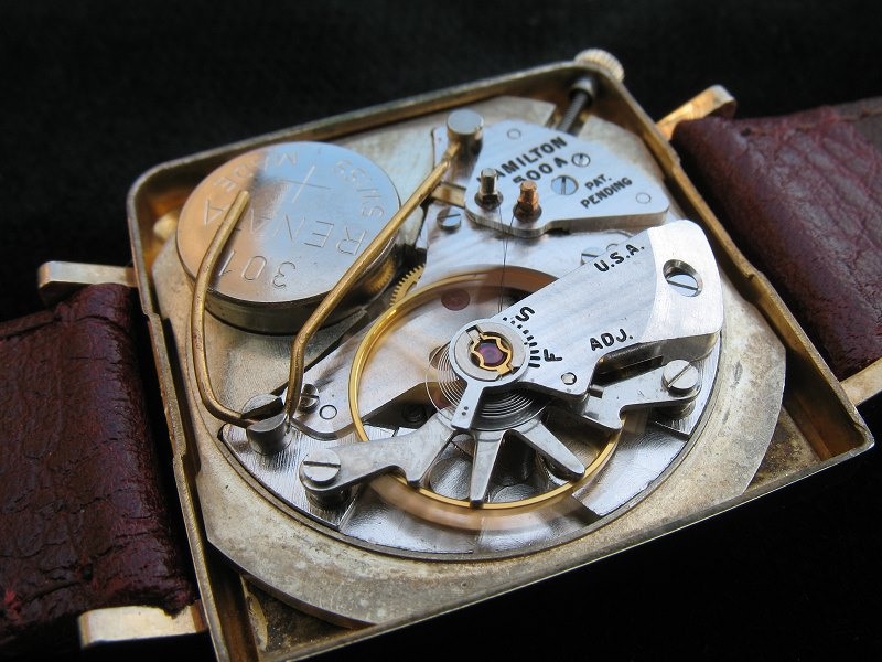 Hamilton Victor 500 movement