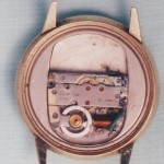 Elgin 722 Watch Back ©John Runciman, FNAWCC