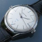 'ELECTRIC' Accumulator watch. This example has the rarer Landeron 4751 movement.