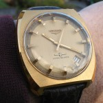 Longines Ultra-Quartz Gold Round Dial