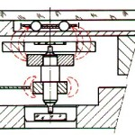 Omega Cal 1220 Magnetic Gears