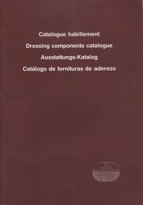 Omega Dressing Components Catalogue August 1989