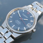 Omega f300 Constellation Steel Blue Dial (198.0006)
