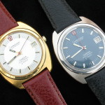 Omega f300 Constellation Steel and Gold 198.002