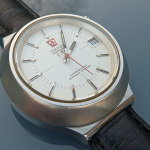 Omega f300 Electronic White Dial (198.012)