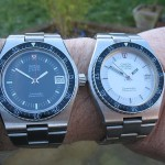 Omega f300 Seamaster 120m Black and Silver Dials (198.0005)