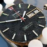 Omega f300 Seamaster Black Cone Dial Bubbled