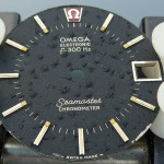 Omega f300 Seamaster Cone Black Dial Bubbling