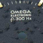 Omega f300 Seamaster Cone Black Dial Bubbling