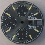 Omega f300 Speedsonic Dial 188.0002 Grey Printed Batons