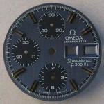 Omega f300 Speedsonic Dial 188.0002 Grey Raised Batons
