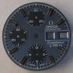Omega f300 Speedsonic Dial 188.0002 Grey Raised Batons