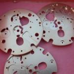Omega 1255 9053 Chronograph Plate