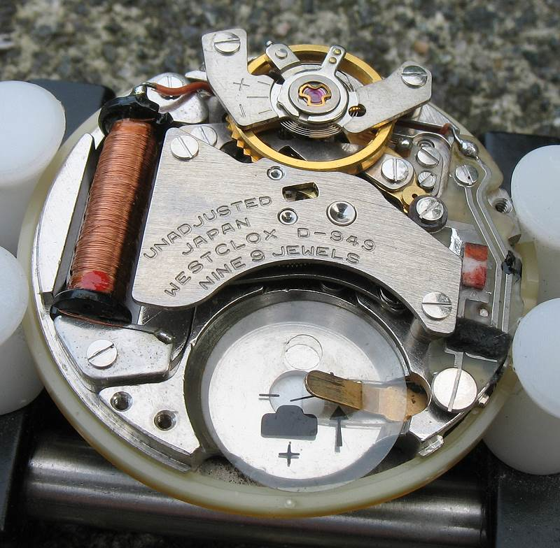 Westclox Electronic D-949 (Seiko 3302A)
