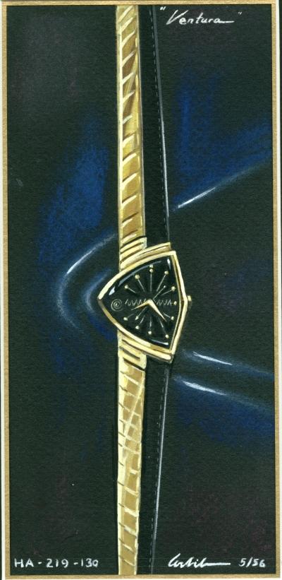 Richard Arbib's artwork for the Ventura